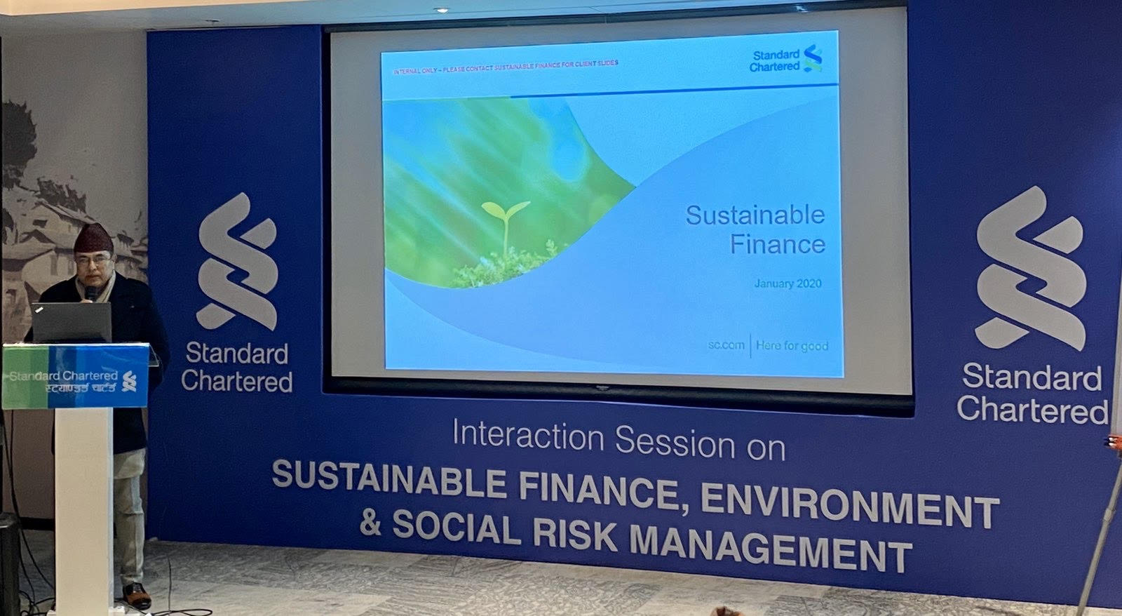 "Interaction session on ""Environment & Social Risk Management"""