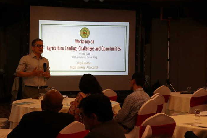 Workshop on Agriculture Lending: Challenges and Opportunities