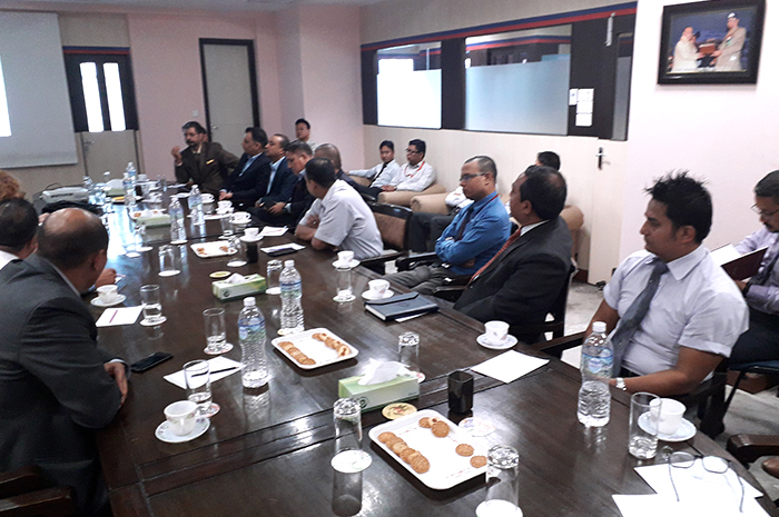 Roundtable discussion on Cyber-Security issues in the financial sector.