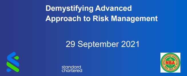 Risk Management – Demystifying Advanced Approach to Risk Management